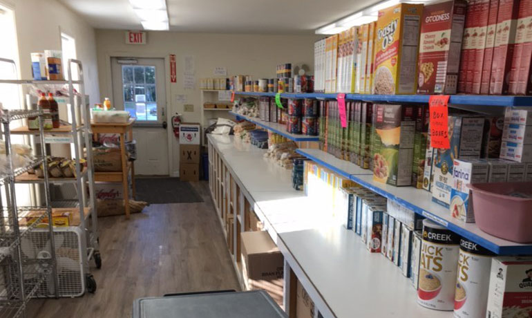 Tree of Life food pantry